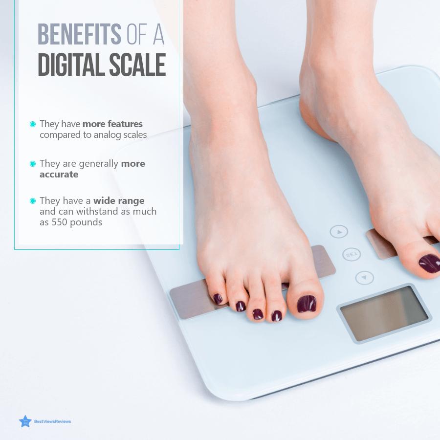 Advantages of a digital scale