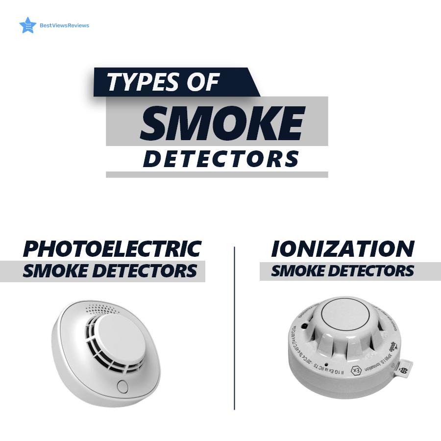 Kinds of smoke detectors