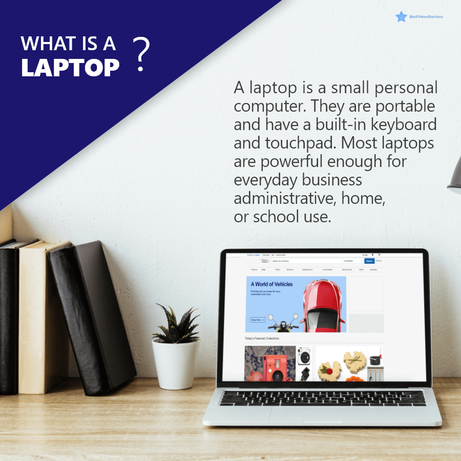 Definition of a laptop