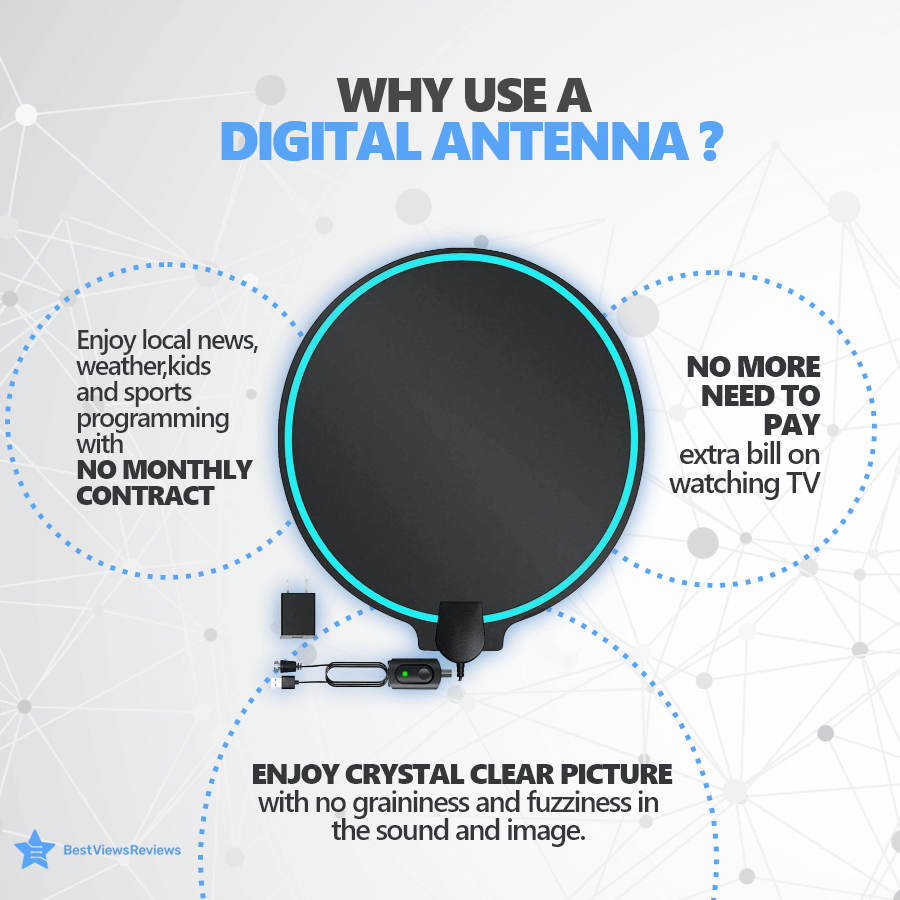 Uses of a digital antenna